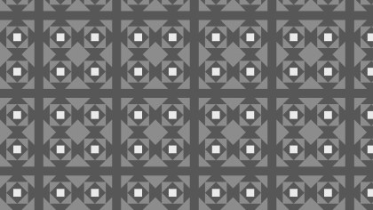 Dark Grey Geometric Square Background Pattern