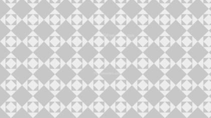 Light Grey Seamless Square Pattern Background