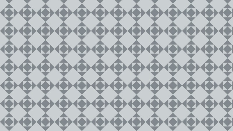 Grey Seamless Square Background Pattern