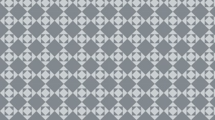 Grey Seamless Geometric Square Pattern