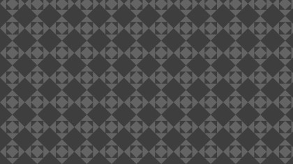 Dark Grey Seamless Geometric Square Pattern Background