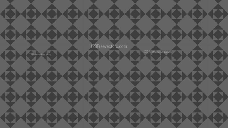 Dark Grey Seamless Geometric Square Background Pattern