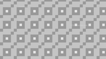 Grey Geometric Square Pattern Illustration