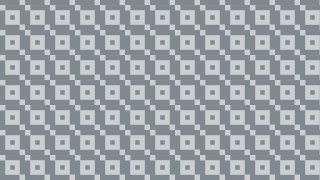 Grey Seamless Square Pattern Vector Graphic