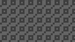 Dark Grey Seamless Geometric Square Pattern Vector Illustration