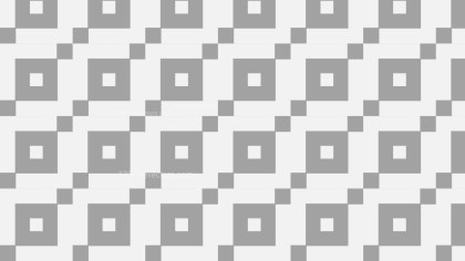 Grey Seamless Geometric Square Background Pattern Vector Art