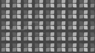 Dark Grey Geometric Square Pattern