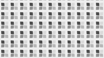 Grey Geometric Square Background Pattern