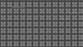 Dark Grey Seamless Square Pattern Background