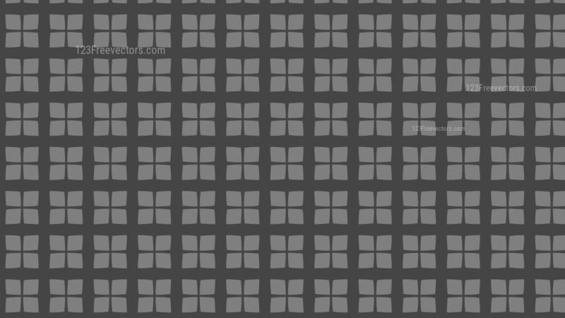 Dark Grey Seamless Square Pattern Background