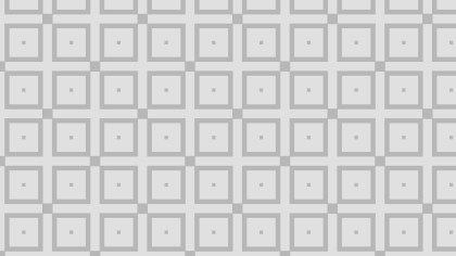 Light Grey Square Pattern Design