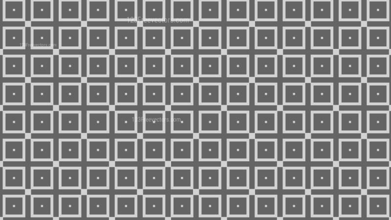Grey Geometric Square Pattern Vector Image