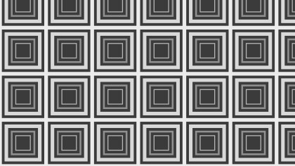 Dark Grey Seamless Concentric Squares Pattern Illustration