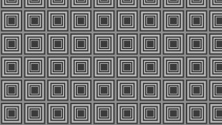 Dark Grey Seamless Concentric Squares Pattern Background Design