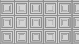 Grey Seamless Concentric Squares Pattern