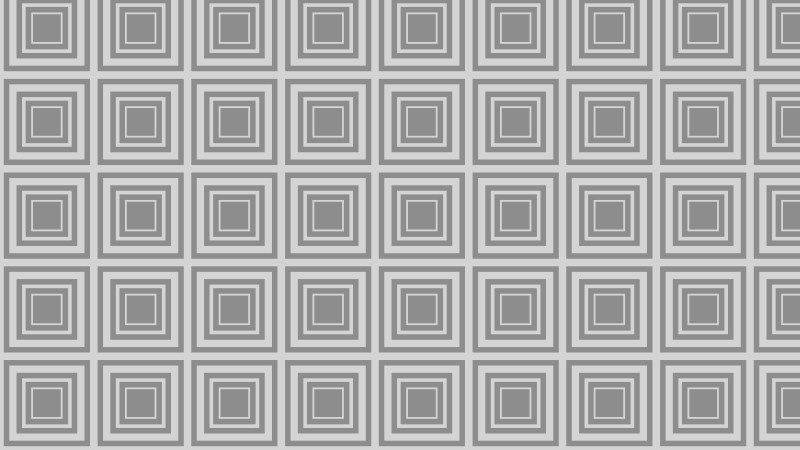 Grey Seamless Concentric Squares Pattern Background