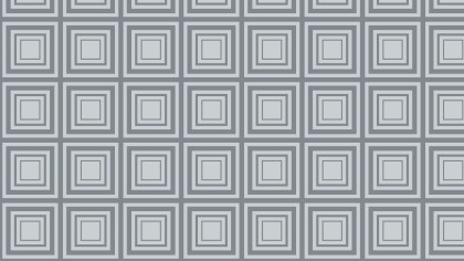 Grey Concentric Squares Pattern Graphic