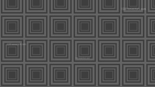 Dark Grey Concentric Squares Pattern Background Illustration