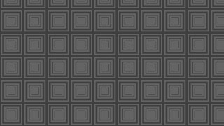 Dark Grey Concentric Squares Background Pattern Design
