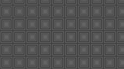 Dark Grey Concentric Squares Background Pattern Design