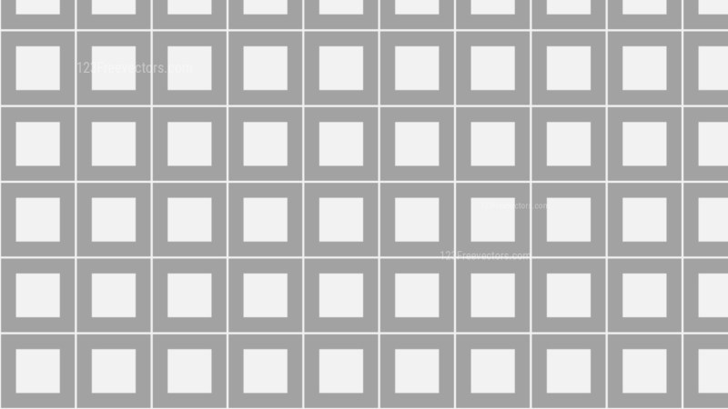 Grey Seamless Square Pattern Vector