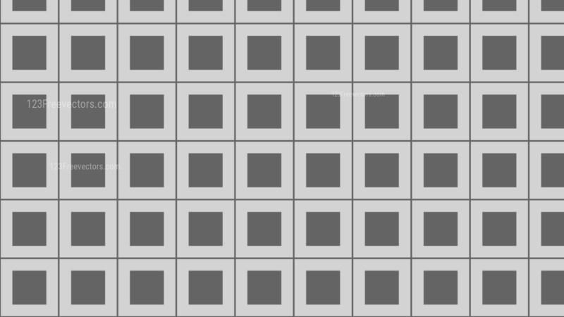 Grey Seamless Geometric Square Pattern Background Design