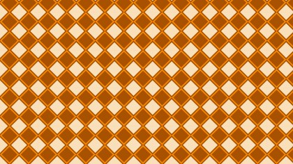 Orange Geometric Square Pattern