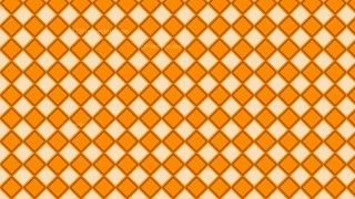 Orange Geometric Square Pattern Background