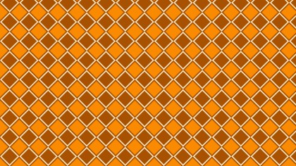 Orange Geometric Square Background Pattern