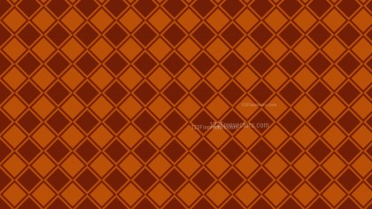 Dark Orange Square Pattern Illustrator