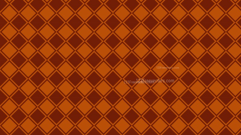 Dark Orange Square Pattern Illustrator