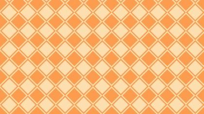 Light Orange Square Pattern Background Vector Illustration