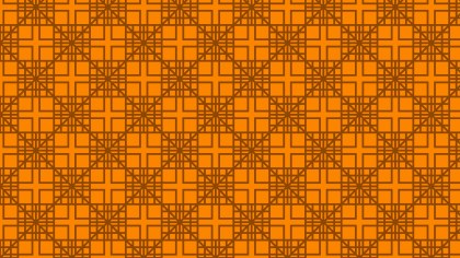 Orange Geometric Square Pattern Vector Art