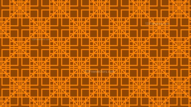 Dark Orange Geometric Square Pattern Background Graphic