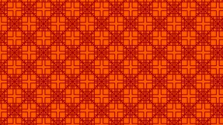 Dark Orange Seamless Square Pattern Design