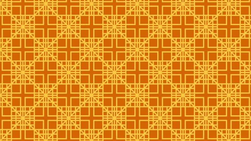 Orange Seamless Square Pattern Background Image