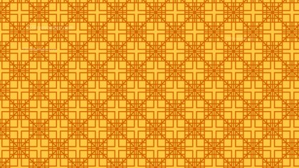 Amber Color Seamless Square Background Pattern Vector Graphic
