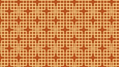Orange Seamless Geometric Square Background Pattern Vector Illustration
