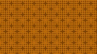 Dark Orange Square Pattern Background