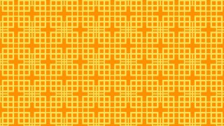 Amber Color Geometric Square Pattern