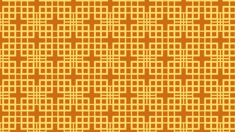 Amber Color Geometric Square Background Pattern