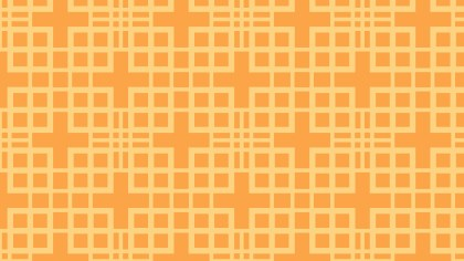 Orange Seamless Square Pattern Background