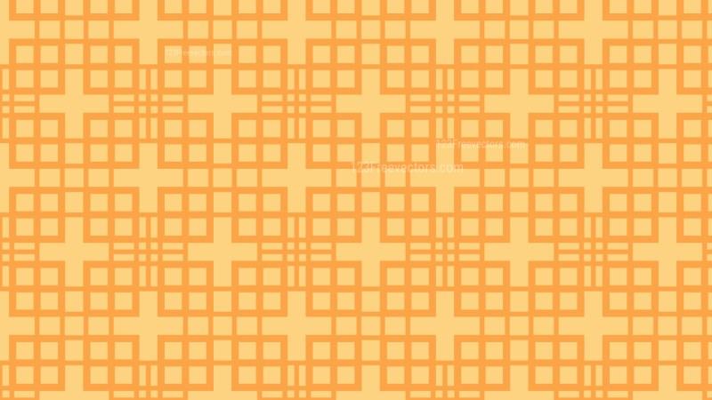 Light Orange Seamless Square Background Pattern