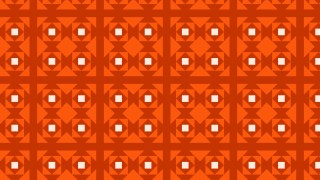 Dark Orange Seamless Geometric Square Background Pattern