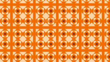 Orange Square Pattern Graphic