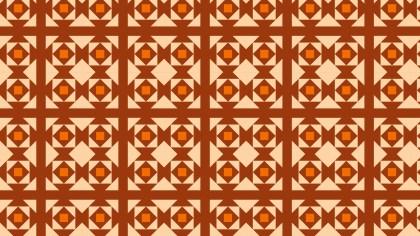 Orange Square Pattern Background Illustration