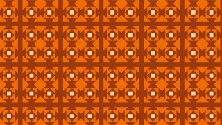 Dark Orange Square Background Pattern Design