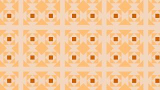 Light Orange Geometric Square Pattern Image