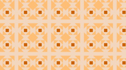 Light Orange Geometric Square Pattern Image