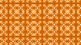 Orange Geometric Square Pattern Background Vector Graphic